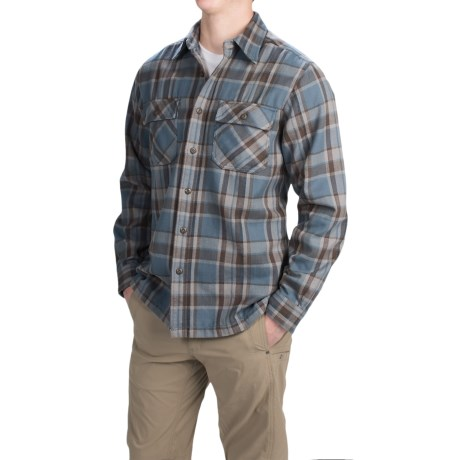Royal Robbins Log Jam Flannel Shirt UPF 50+, Long Sleeve (For Men)