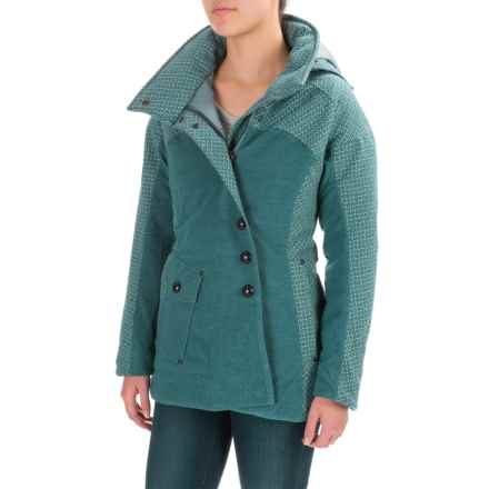 Royal Robbins Long Down Jacket - 650 Fill Power (For Women) in Deep Blizzar - Closeouts