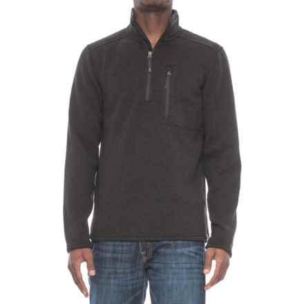 Royal Robbins Longs Peak Pullover Sweater - Zip Neck (For Men) in Charcoal - Overstock