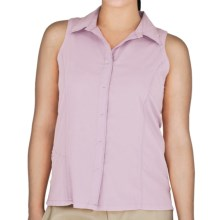 Royal Robbins LT Expedition Shirt - UPF 50+, Sleeveless (For Women) in Pale Berry - Closeouts