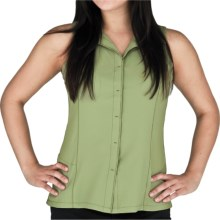 Royal Robbins LT Expedition Shirt - UPF 50+, Sleeveless (For Women) in Pesto - Closeouts