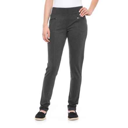 Royal Robbins Lucerne Ponte Pants - UPF 50+, Slim Leg (For Women) in Charcoal - Closeouts