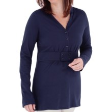 Royal Robbins Lucy Tunic Shirt - Organic Cotton, Long Sleeve (For Women) in Twilight - Closeouts