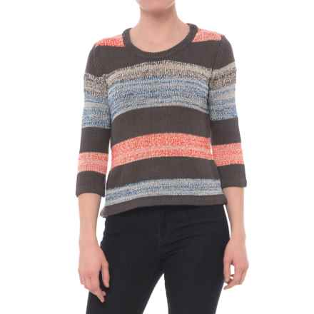 Royal Robbins Luna Sweater - Rayon Blend, 3/4 Sleeve (For Women) in Obsidian - Closeouts