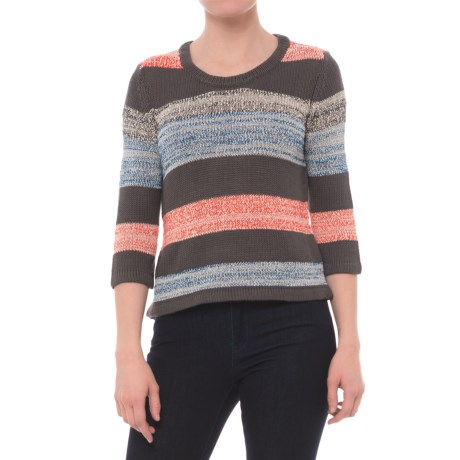 Royal Robbins Luna Sweater - Rayon Blend, 3/4 Sleeve (For Women) in Obsidian