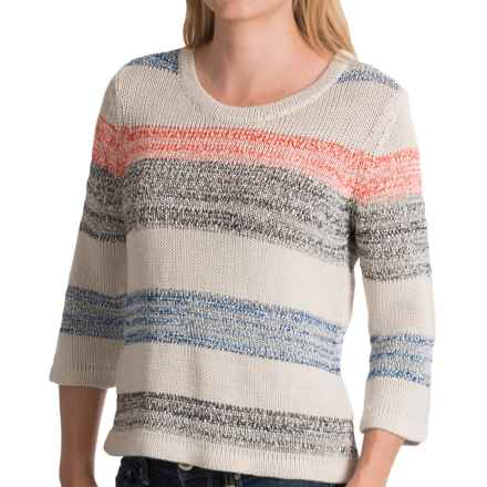 Royal Robbins Luna Sweater - Rayon Blend, 3/4 Sleeve (For Women) in Soapstone - Closeouts