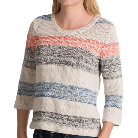 Royal Robbins Luna Sweater - Rayon Blend, 3/4 Sleeve (For Women) in Soapstone