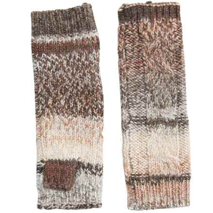 Royal Robbins Manu Fingerless Mittens - Wool Blend (For Women) in Oatmeal - Closeouts