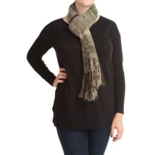 Royal Robbins Manu Scarf (For Women) in Galaxy Green - Closeouts