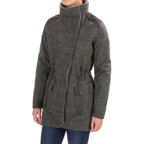 Royal Robbins Mariposa Parka - UPF 50+ (For Women) in Charcoal