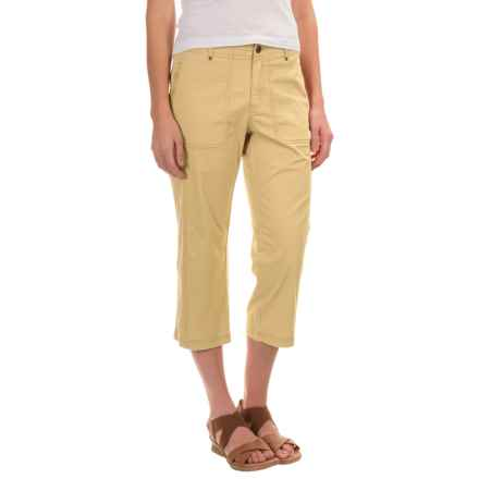 Royal Robbins Marly Capris - Stretch Cotton (For Women) in Butter - Closeouts
