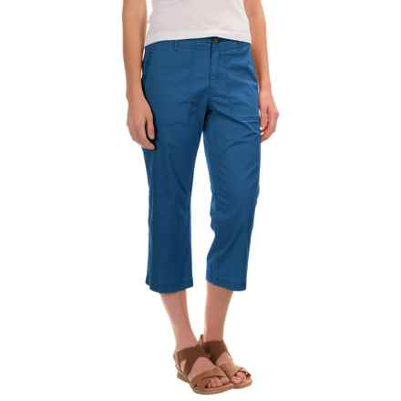 Royal Robbins Marly Capris - Stretch Cotton (For Women) in Dark Lapis - Closeouts