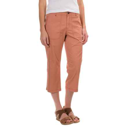 Royal Robbins Marly Capris - Stretch Cotton (For Women) in Pale Coral - Closeouts
