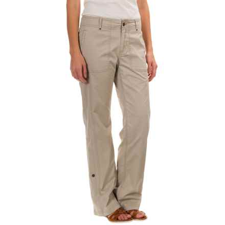 Royal Robbins Marly Pants - Stretch Cotton (For Women) in Light Khaki - Closeouts