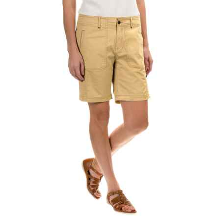 Royal Robbins Marly Roll-Up Shorts - UPF 50+ (For Women) in Butter - Closeouts