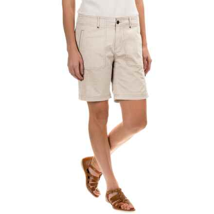 Royal Robbins Marly Roll-Up Shorts - UPF 50+ (For Women) in Creme - Closeouts