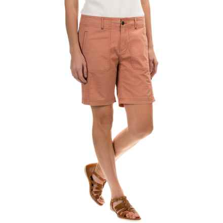 Royal Robbins Marly Roll-Up Shorts - UPF 50+ (For Women) in Pale Coral - Closeouts