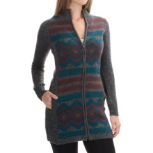Royal Robbins Maya Cardigan Sweater - Full Zip (For Women) in Pewter - Closeouts