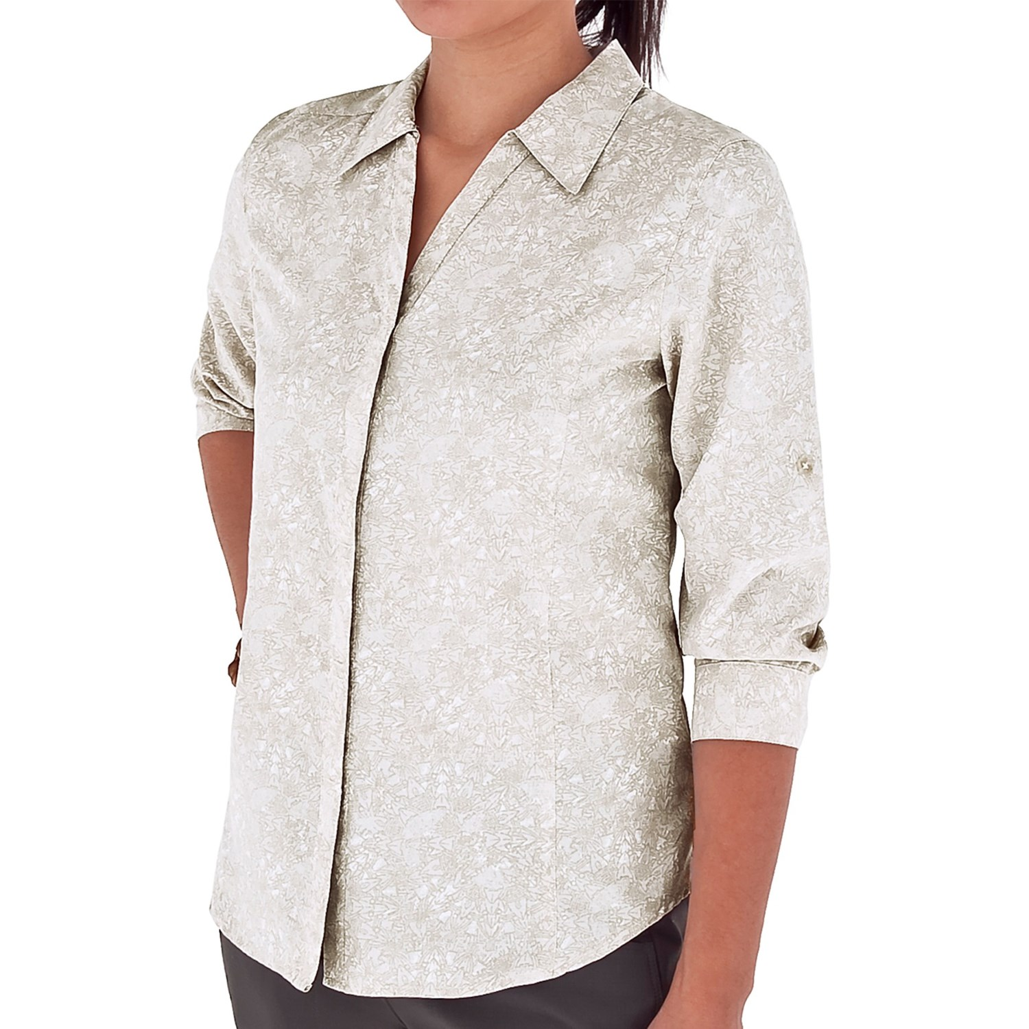 Royal robbins mayan shirt upf 50 3 4 sleeve for women for Royal robbins expedition shirt 3 4 sleeve women s