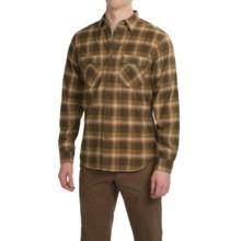 Royal Robbins Merced Plaid Shirt - UPF 50+, Long Sleeve (For Men) in Mangrove Green - Closeouts