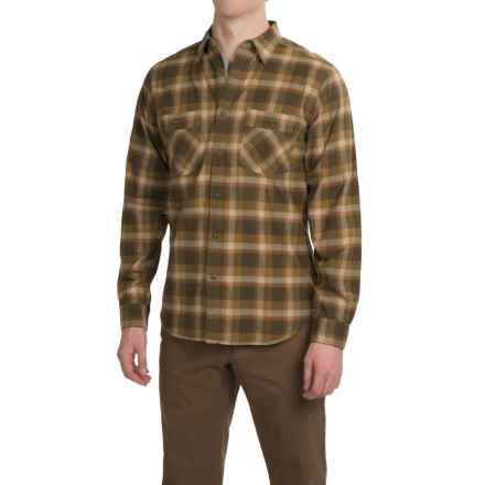 Royal Robbins Merced Plaid Shirt - UPF 50+, Long Sleeve (For Men) in Mangrove Green - Closeouts
