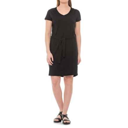 Royal Robbins Merinolux Dress - UPF 50+, Short Sleeve (For Women) in Jet Black - Closeouts