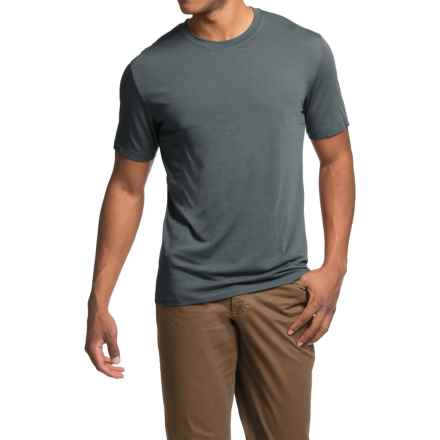 Royal Robbins MerinoLux Go Everywhere T-Shirt - UPF 50+, Short Sleeve (For Men) in Slate - Closeouts