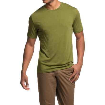 Royal Robbins MerinoLux Go Everywhere T-Shirt - UPF 50+, Short Sleeve (For Men) in Spanish Moss - Closeouts