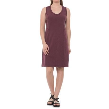 Royal Robbins Metro Melange Shift Dress - UPF 50+, Sleeveless (For Women) in Plum Wine