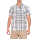 Royal Robbins Mid-Coast Seersucker Plaid Shirt - Short Sleeve (For Men)