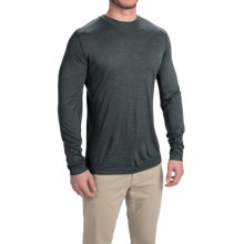 Royal Robbins Mission-Knit Shirt - Long Sleeve (For Men) in Lagoon - Closeouts