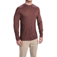 Royal Robbins Mission-Knit Shirt - Long Sleeve (For Men) in Merlot - Closeouts