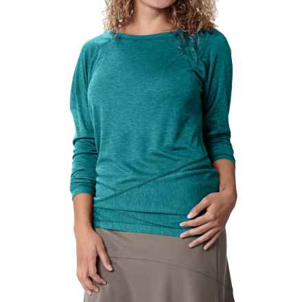 Royal Robbins Mission Knit Shirt - Long Sleeve (For Women) in Cosmic Blue - Closeouts