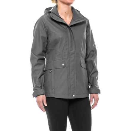 Royal Robbins Mobilizer Trench Coat (For Women) in Charcoal - Closeouts