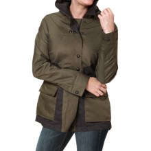 Royal Robbins Mobilizer Trench Coat (For Women) in Dark Galaxy Green - Closeouts
