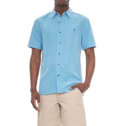 Royal Robbins Mojave Desert Pucker Shirt - UPF 25+, Short Sleeve (For Men) in Bluejay - Closeouts