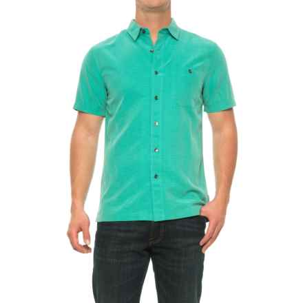 Royal Robbins Mojave Desert Pucker Shirt - UPF 25+, Short Sleeve (For Men) in Bowden - Closeouts