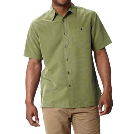 Royal Robbins Mojave Desert Pucker Shirt - UPF 25+, Short Sleeve (For Men) in Cactus - Closeouts