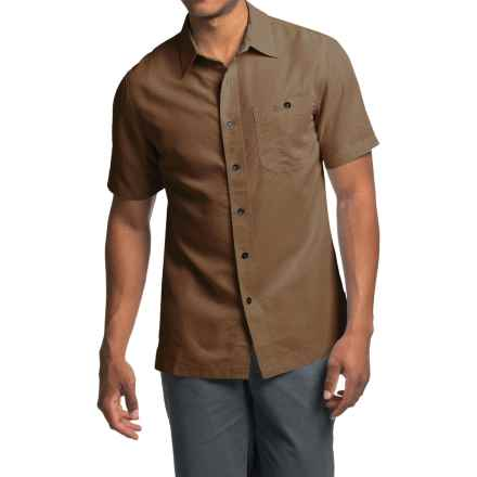Royal Robbins Mojave Desert Pucker Shirt - UPF 25+, Short Sleeve (For Men) in Desert Palm - Closeouts