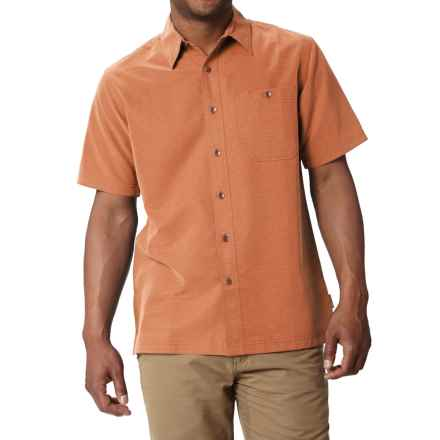 Royal Robbins Mojave Desert Pucker Shirt - UPF 25+, Short Sleeve (For Men) in Goldfish - Closeouts