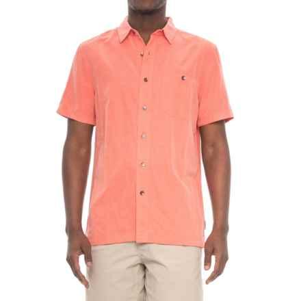 Royal Robbins Mojave Desert Pucker Shirt - UPF 25+, Short Sleeve (For Men) in Guava - Closeouts