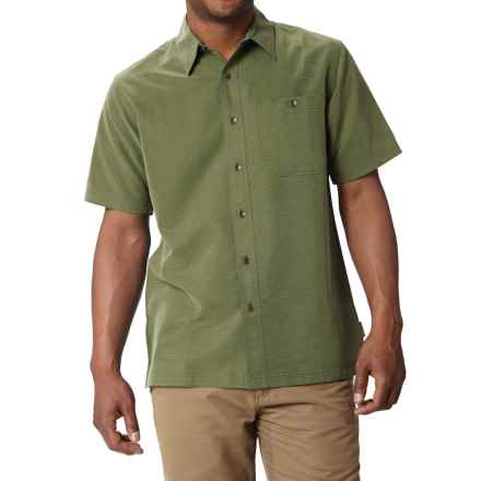 Royal Robbins Mojave Desert Pucker Shirt - UPF 25+, Short Sleeve (For Men) in Pine Needle - Closeouts