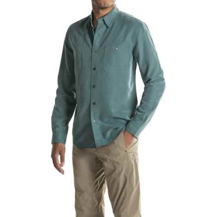 Royal Robbins Mojave Desert Pucker Shirt - UPF 50+, Long Sleeve (For Men) in Balsam Green - Closeouts