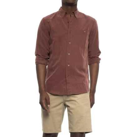 Royal Robbins Mojave Desert Pucker Shirt - UPF 50+, Long Sleeve (For Men) in Raisin - Closeouts