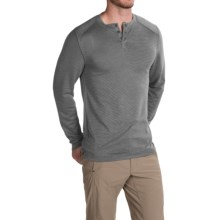 Royal Robbins Mojave Henley Shirt - UPF 50+, Long Sleeve (For Men) in Charcoal - Closeouts
