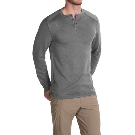 Royal Robbins Mojave Henley Shirt UPF 50+, Long Sleeve (For Men)