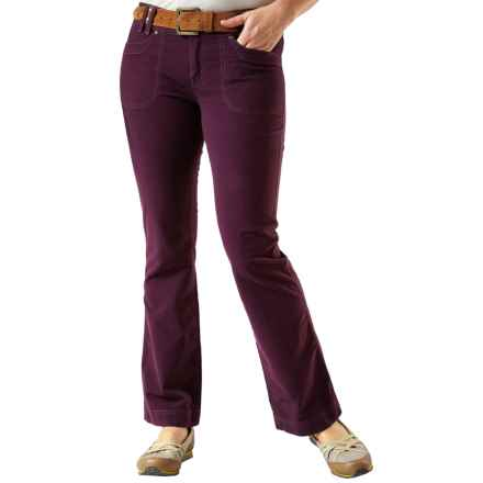 Royal Robbins Moleskin Pants - UPF 50+ (For Women) in Blackberry - Closeouts