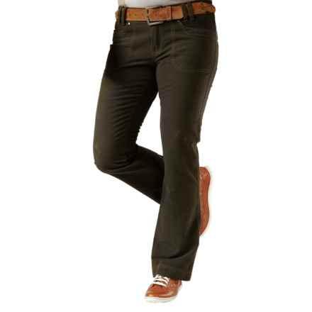 Royal Robbins Moleskin Pants - UPF 50+ (For Women) in Dark Galaxy Green - Closeouts