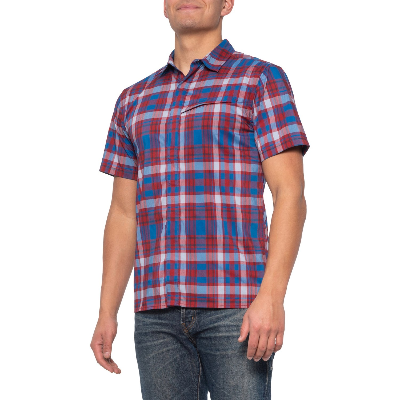 nuevo Royal Robbins camisa vida cotidiana /& viaje-Austin Plaid camisa tan 2013