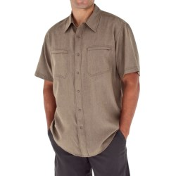 Royal Robbins Monument Shirt - UPF 50+, Short Sleeve (For Men) in Burlywood